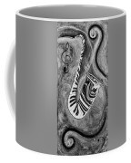 Piano Keys In A Saxophone 1 - Music In Motion Coffee Mug
