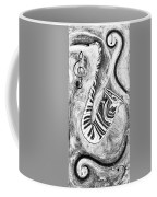 Piano Keys In A Saxophone 2 - Music In Motion Coffee Mug