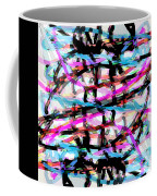 Abstract Pink Coffee Mug