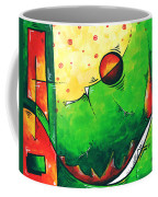Abstract Pop Art Original Painting Coffee Mug