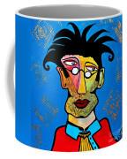Abstract Professor Coffee Mug