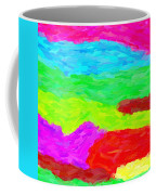 Abstract Rainbow Art By Adam Asar 3 Coffee Mug