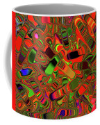 Abstract Rainbow Slider Explosion Coffee Mug