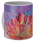 Abstract Red And Purple And Blue Coffee Mug