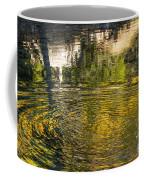 Abstract River Reflection Coffee Mug