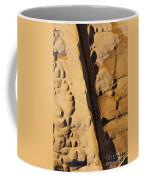 Abstract Rock With Diagonal Line Coffee Mug