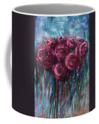 Abstract Roses Coffee Mug