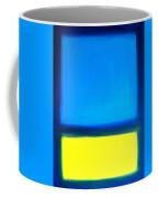 Abstract Seascape Color Field Coffee Mug