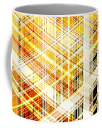 Abstract Shining Lines Coffee Mug
