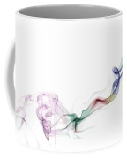 Abstract Smoke Coffee Mug