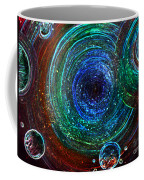 Abstract Space Art. Sparkling Antimatter Coffee Mug