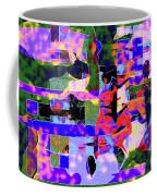 Abstract Sports Montage Coffee Mug