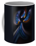 Abstract Stained Glass Angel Coffee Mug