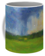 Abstract Stormy Landscape Coffee Mug