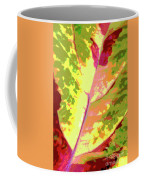Abstract Summer's End Coffee Mug