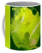 Abstract Tennis Ball Coffee Mug by David G Paul