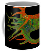 Abstract Tenticles Coffee Mug