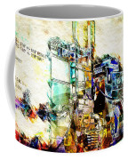 Abstract Train Coffee Mug