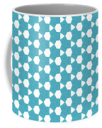 Abstract Turquoise Pattern 1 Coffee Mug