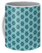 Abstract Turquoise Pattern 4 Coffee Mug