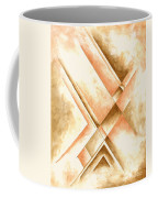 Abstract Unique Original Painting Contemporary Art Champagne Dreams I By Madart Coffee Mug