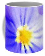 Abstract Violets Coffee Mug