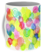Abstract Watercolor Circles Coffee Mug
