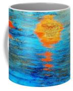 Abstract Watery Sunset Coffee Mug