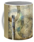 Abstract With Circles Coffee Mug