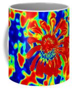 Abstract Zinnia Coffee Mug