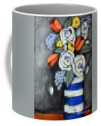 Abstracted Flowers - 3 Coffee Mug