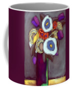 Abstracted Flowers - 4 Coffee Mug