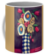 Abstracted Flowers- 5 Coffee Mug