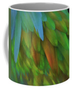 Abstractions From Nature - Pigeon Feathers Coffee Mug