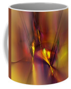Abstracts Gold And Red 060512 Coffee Mug