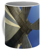 Abstrat View Of Columns At Lincoln Coffee Mug