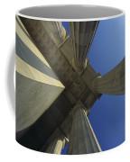Abstrat View Of Columns At Lincoln Coffee Mug