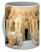 Abu Simbel 2 Coffee Mug