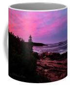 Acadia National Park Sunset Coffee Mug