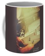 Aces Up The Sleeve Coffee Mug