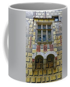Achitecture Of The Little Castle Within Cesky Krumlov In The Czech Republic Coffee Mug