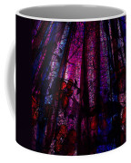 Acid Rain With Red Flowers Coffee Mug