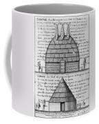 Acolapissa Temple & Cabin Coffee Mug