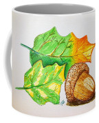 Acorn And Leaves Coffee Mug