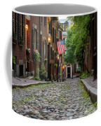 Acorn St. Boston Ma. Coffee Mug