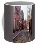 Acorn Street Beacon Hill Coffee Mug by Wayne Marshall Chase