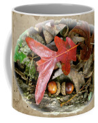 Acorns And Oak Leaves Coffee Mug