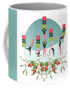 Acrobatic Parcel Delivery Coffee Mug