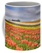 Across Colorful Fields Coffee Mug by Mike  Dawson