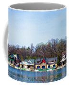 Across From Boathouse Row - Philadelphia Coffee Mug